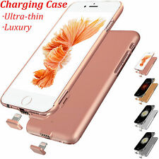 Slim External Power Battery Charger Bank Pack Case Cover For iPhone 7 & 7 Plus