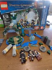 Lego Fountain of Youth (4192) with original box, manuals, and figures