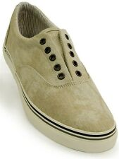Kenneth Cole Reaction Mens Beige Illusion Lace Sneaker Casual Slip on Shoe