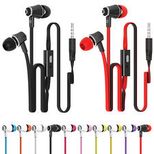Mic Fashion Candy Color In-Ear Earphones Super Bass Headphones Stereo Headset FS
