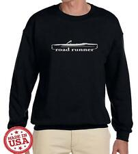 1968 1969 Plymouth Road Runner Convertible Classic Outline Design Sweatshirt NEW