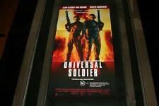 UNIVERSAL SOLDIER  VAN DAMME 1992 AUST ORIG DAYBILL MOVIE POSTER IN MINT COND