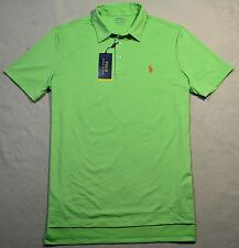 NWT MEN POLO RALPH LAUREN SPORT PERFORMANCE PALE KIWI SHRT SLV SHIRT SZ L-XXL