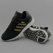 Adidas Busenitz Pure Boost 10 Year Anniversary Shoes - Black/Gold/White