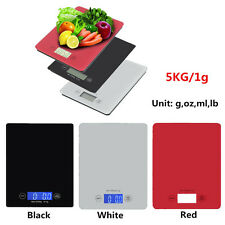 New 11lbs 5KG/1G Digital Kitchen Weight Scale LCD Electronic Diet Food Device E1