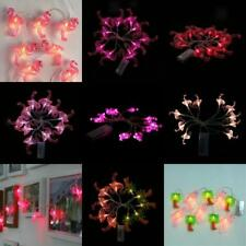 10-LED 165cm Bulbs Christmas Tree Fairy Wedding Party String Lights Xmas Decor