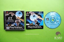 E.T. The Extra Terrestrial Interplanetary PS1 Playstation PS2 PS3 PAL Game