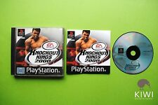 Knockout Kings 2000 Playstation 1 PS1 PS2 PS3 PAL Game + Disc Only Option