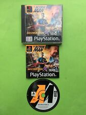 Action Man Destruction X PS1 Playstation 1 PS2 PAL Game+ Works On PS2 & PS3