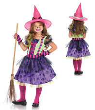 Girls Black Cat Witch Halloween Costume