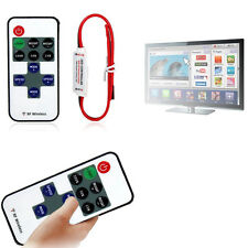 Mini 12V RF Wireless Remote Switch Controller Dimmer for LED Strip Light FS0