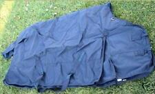 """600D Waterproof Winter Protection Turnout Horse Blanket NAVY 68 70"""" Clearance"""