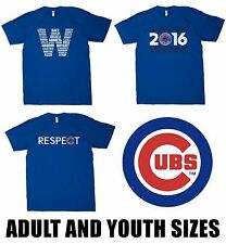 Chicago Cubs 2016 World Series T-Shirt Youth and Adult Sizes Available