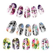 10pcs DIY Nail Water Transfer Decals Nails Art Stickers Decal Wraps -- Flower