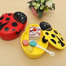 Ladybug Bento Lunch Storage Box Food Container Microwave Oven Box