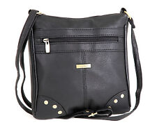 NEW PU LEATHER GIRLS/WOMEN/LADIES CROSS BODY HAND/SHOULDER LONG STRAP BAG
