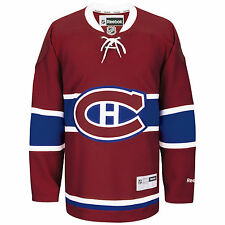 Montreal Canadiens Reebok Premier Replica Home NHL Hockey Jersey red