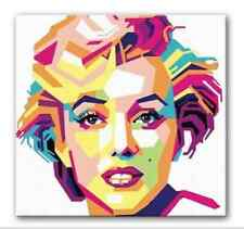MARILYN MONROE CANVAS PRINT POP ART- ICONIC ARTWORK FRAMED + FREE DELIVERY