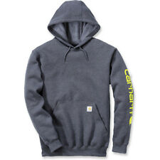 Carhartt Workwear Signature Sleeve Mens Hoody - Charcoal Heather All Sizes