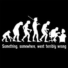 SOMETHING SOMEWHERE WENT TERRIBLY WRONG (coder programmer linux book) T-SHIRT