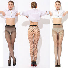 Fashion Black Sheer Women Mesh Fishnet Stockings Sexy Lady Pantyhose Tights