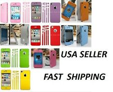 Colorful Full Body Screen Film Protector Case Cover Skin For iPhone 5 5G SP