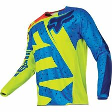 Yellow/Blue/Orange Sz XL Fox Racing 180 Nirv Youth Jersey Motocross Jersey