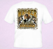 Walker Hound Hunting Dogs Series T-Shirt Black White S 5XL Coon Hunters Dog New