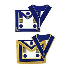 Craft Provincial full-dress and undress Apron with Blue Rosettes and Collars Set
