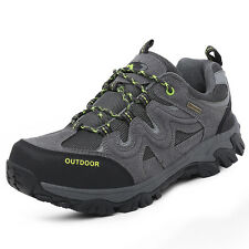 GOMNEAR men big size hiking outdoor athletic shoes trail climbing wearable shoes