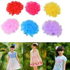 Lace Flower Hair Clips Baby Flower Hair Clip For Infant Hair Accessories FG
