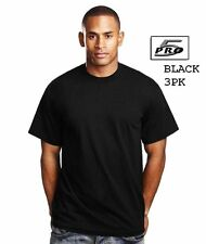 Plain T-Shirts Men's Pro 5 Short Sleeve Round Neck - 3 Pack