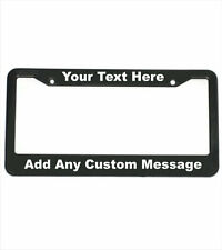 Custom License Plate Frame | Personalized License Plate Frame |