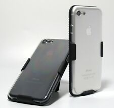 Clear Slim Case + Swivel Belt Clip Holster for  iPhone 8 4.7""