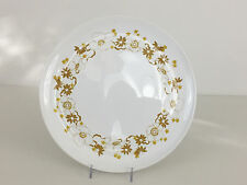 CENTURA by Corning dinner plate mid-century mordern 1960's 1970's Golden color