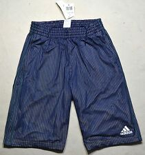 NWT MENS ADIDAS TRIPLE UP MOD NAVY BASKETBALL ACTIVE ATHLETIC SHORTS SZ S M