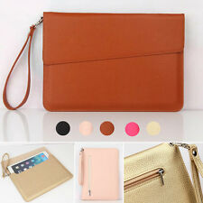 Fashion Slim Sleeve Envelope Bag Leather Pouch Case for iPad Pro mini Air 2 3 4