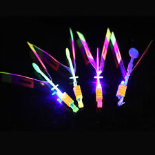 Chic Fashion 1 or 2pcs LED Light Slingshot Flying Arrow Catapult Toy Kids Gift