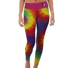 Florida State University Seminoles FSU Womens Yoga Pants Tie Dye  Design