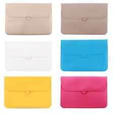 Computer PU Leather Water Resistant Case Laptop Sleeve for MacBook 12 11.6 Inch