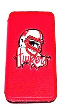 Woodys Originals Inc. Nebraska Cornhuskers Leather Sports Team Cell Phone Cases