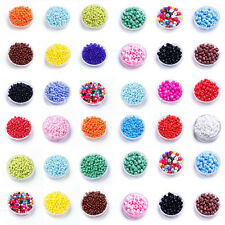 Wholesale 1000Pc Czech Glass Round Loose Spacer Bead Seed Jewelry Making DIY 2MM