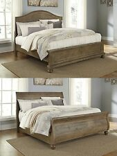 Ashley Furniture Light Brown Bedroom Set Queen Cal King Bed Casual Bedframe Home