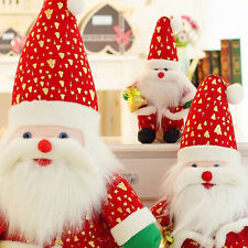 1pc Christmas Lovely Doll Decoration Santa Claus Plush Doll Child Baby Toy Hot