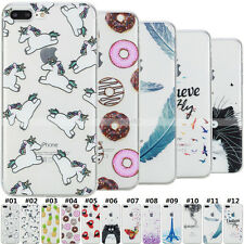 TPU Pattern Silicone Soft Rubber Fashion Back Protective Case Cover For Apple