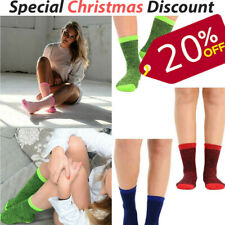 Womens Thermal Winter Socks Warm Thick Assorted Colours UK 4-6   3, 6, 12 Pairs