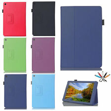 Hot Sale Smart Leather Stand Flip Case Cover For Amazon Kindle Fire HD 8/10 Inch