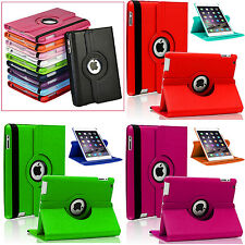 Leather Rotating 360 Degree Swivel Case Smart Stand Cover For Apple iPad 2 3 4