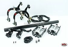 MX1000 - MX121 Tech 3 Package Deal In Black - Old School BMX - Dia Compe