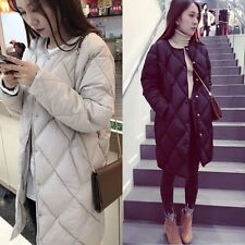 New WomenS Thicken Warm Winter Coat Hood Parka Overcoat Long Jacket Outwear
